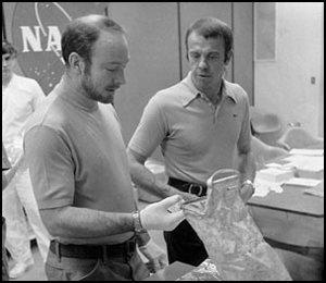 Edgar Mitchell and Alan Shepard